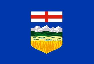 flag of alberta canada