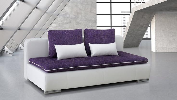 das moderne relaxsofa kari verf gt im ausgezogenen zustand ber eine liegefl che von 200 x 150. Black Bedroom Furniture Sets. Home Design Ideas