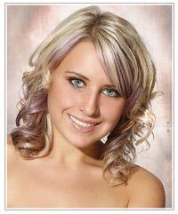 How To Wear Purple Highlights 2jpg | Dark Brown Hairs
