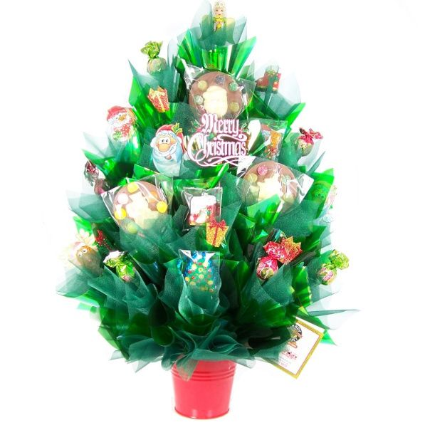 Candy bouquet leicester christmas bouquets