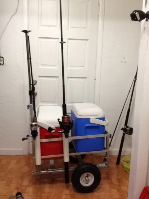 diy fishing cart craft ideas pinterest