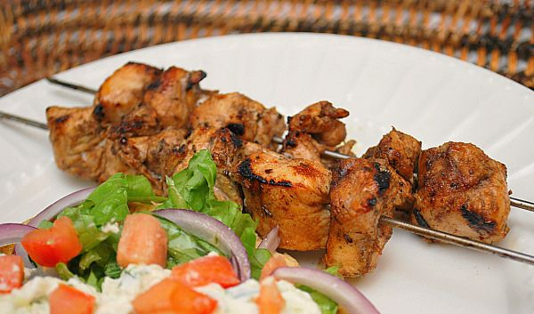 Chicken Souvlaki (make the tzatziki with mashed avocado instead of ...
