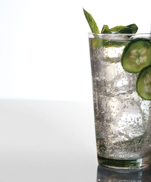 Make This for Brunch: Cucumber, Mint, and Basil Soda