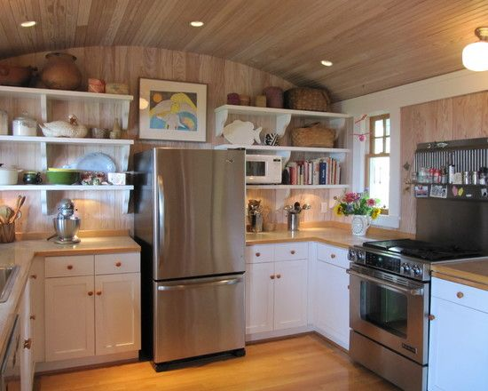 Small and Functional | Creative Small Kitchen Ideas | Pinterest