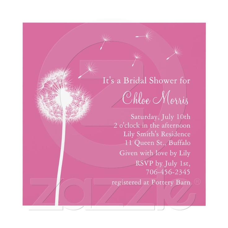 Invitation What to buy for a bridal shower