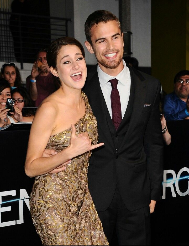 are shailene and theo dating