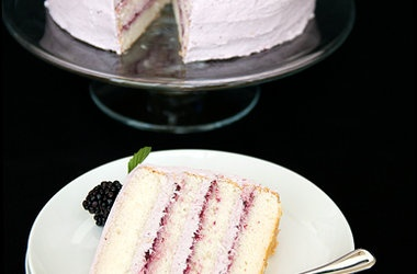Blackberry Lemon Elderflower Cake — Punchfork
