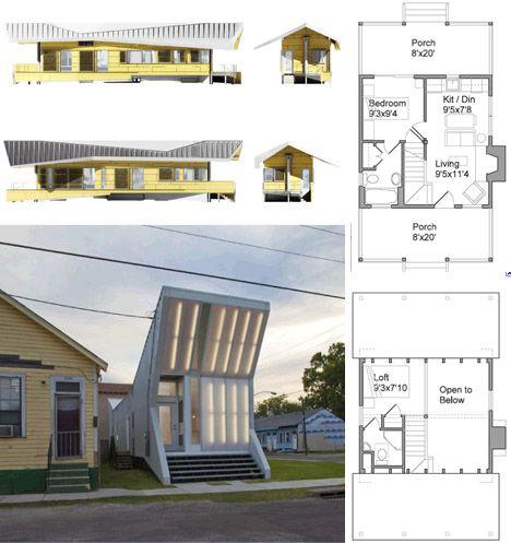 Modern shotgun homes dream homes pinterest for Modern shotgun house plans