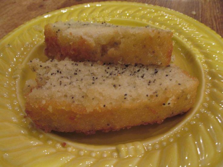 Almond Poppy Seed Bread With Lemon Glaze | Bread | Pinterest