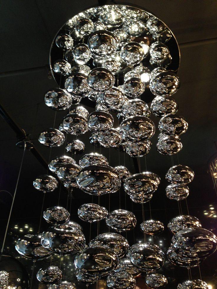Chrome Bubble Chandelier lighting