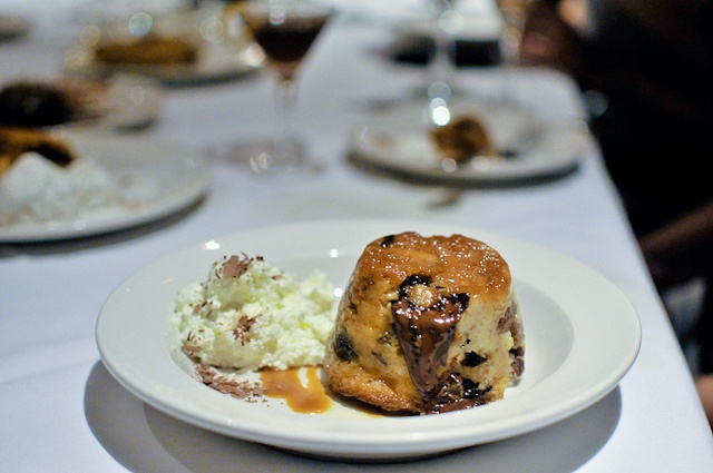Chocolate Caramel Bread Pudding Recipe — Dishmaps