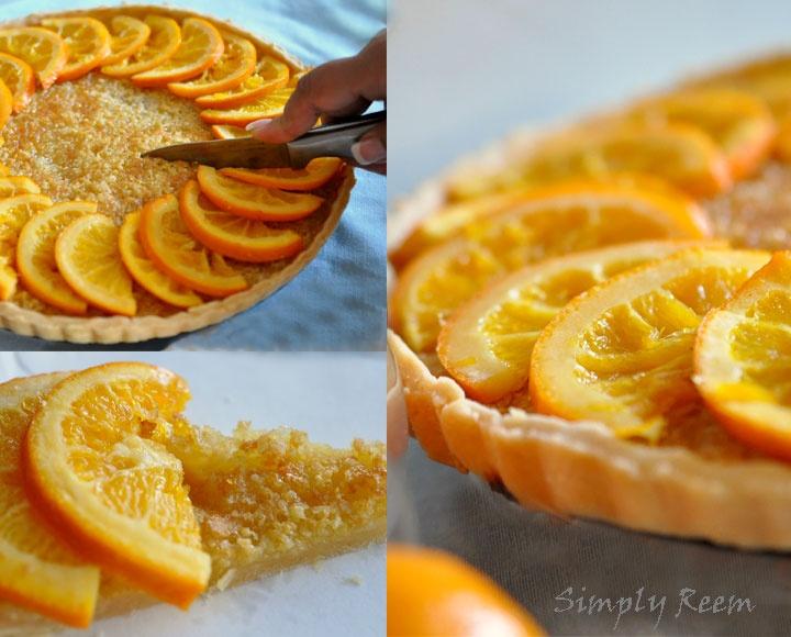 Beautiful Orange tart @Reem Rizvi | Foods - Pastries and Cheesecakes ...