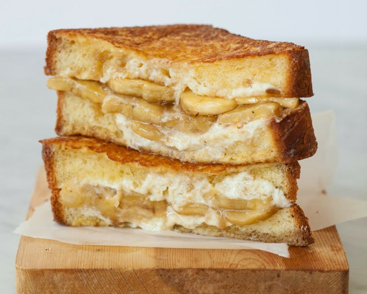 Grilled Cheese With Mascarpone, Apricots And Chocolate Recipes ...