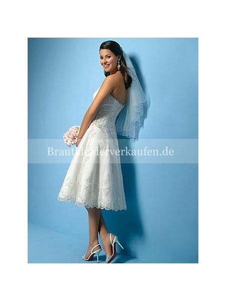 Spitze KneeLänge kurz Hochzeitskleid  Weddings  Pinterest