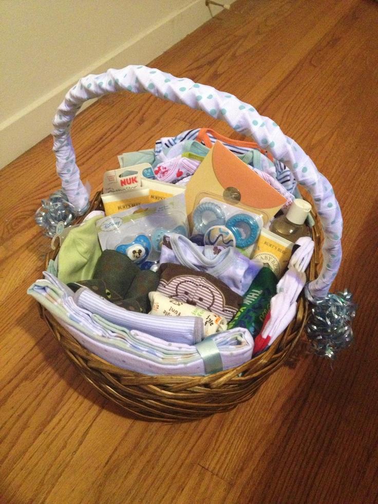 baby boy shower gift basket diy pinterest