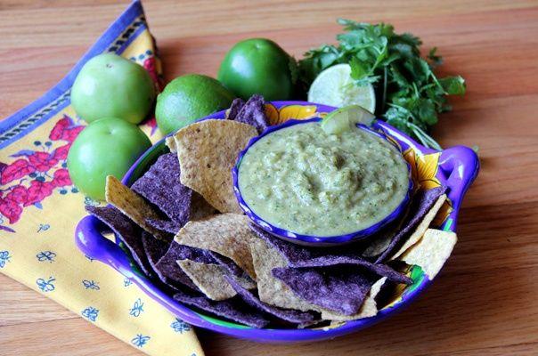 Recipe: Roasted Tomatillo Salsa Verde