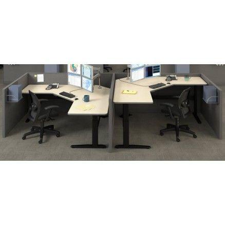 Pin by ugoburo on height adjustable desks pinterest - Corner desk canada ...