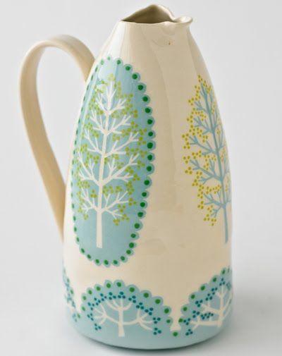 ceramicist katrin moye via printandpattern