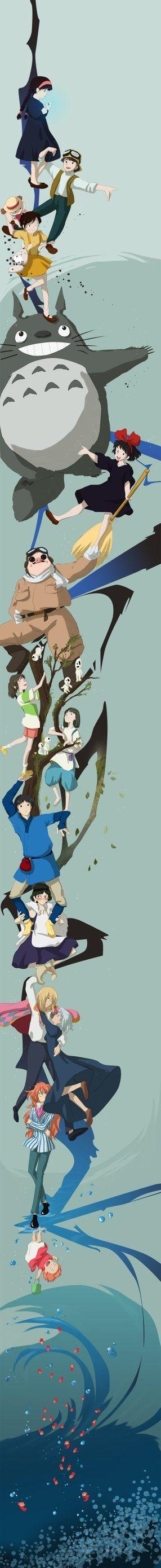 A lovely Studio Ghibli tribute.