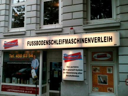 Fussbodenschleifmaschinenverleih (German) Wooden floor sanding/refinishing service provider