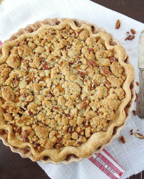 Sweet Potato Pecan Pie | Recipe