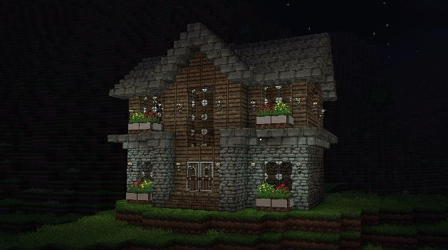 Small house minecraft inspirational pinterest for Pictures of pretty houses