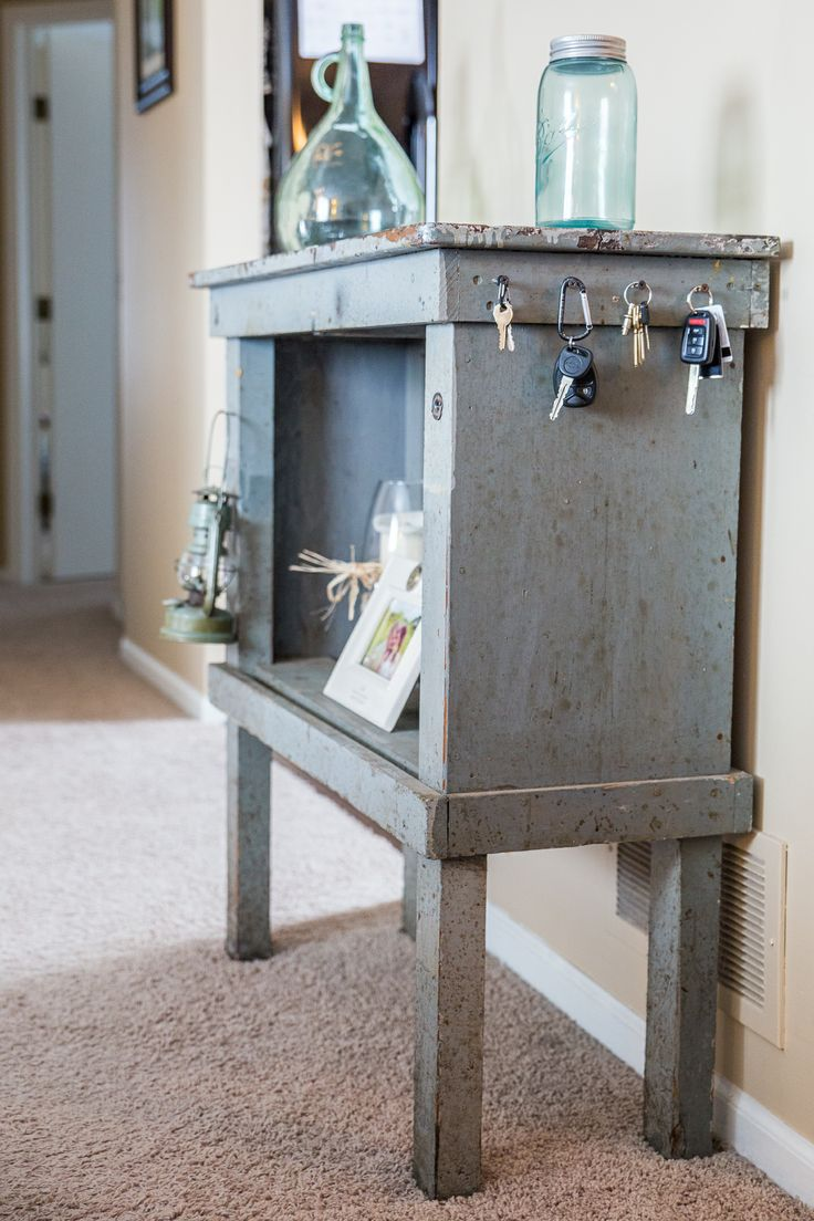 ... in the Minneapolis, MN area. tags: repurposed salvaged table primitive