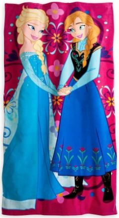 Frozen Disney Beach towel, Elsa adn Anna #Frozen, #Disney, FROZEN BEACH TOWELS ELSA, ANNA AND OLAF #DISNEY #FROZEN