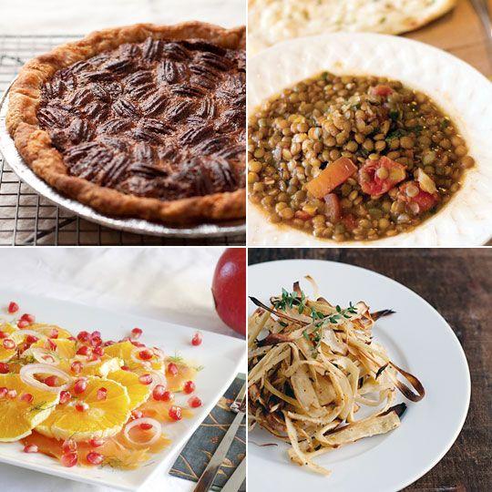 Bittersweet Chocolate Pecan Pie & Cumin Tomato Lentils — Delicious ...