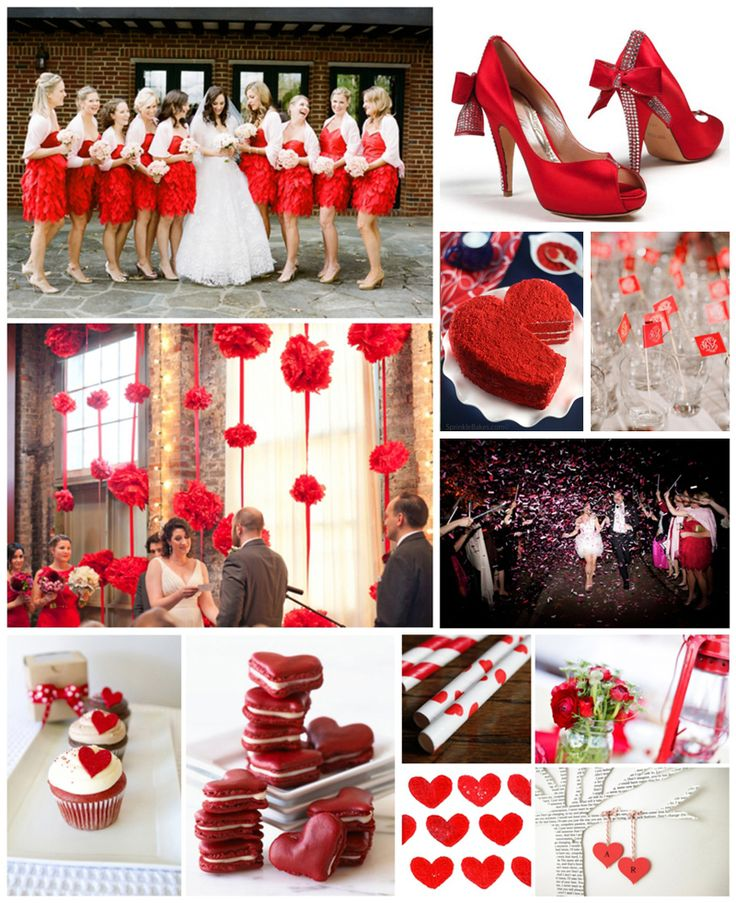 Red & White Wedding (http://www.mywvwedding.com/Planners-Palette/December-2012/Red-White/) @WV Weddings Magazine