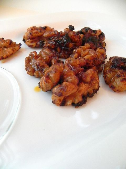Toasted Spiced Walnuts. Super easy, and I see many flavor combos in ...