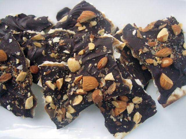 Blue Kale Road: Matzah Almond Roca | Recipes for Sweets & Treats | Pi ...