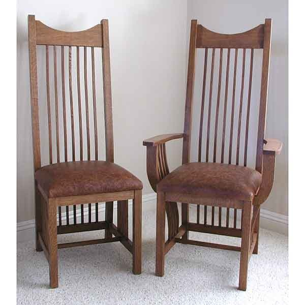 mission style dining chair mission style pinterest