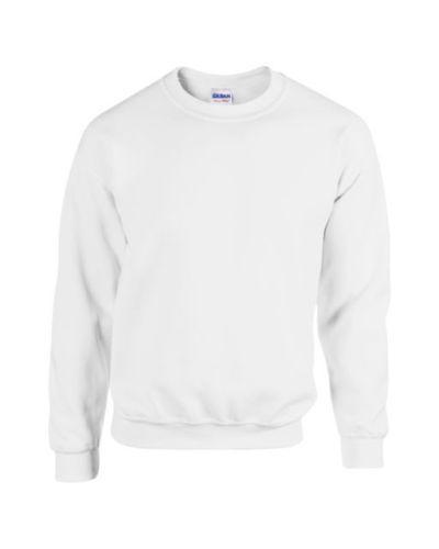 Plain White Jumper Mens 103