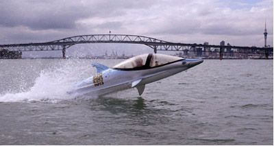 Bionic Dolphin submarine