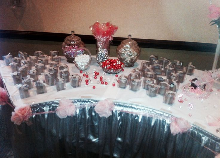 Favor and Candy Table