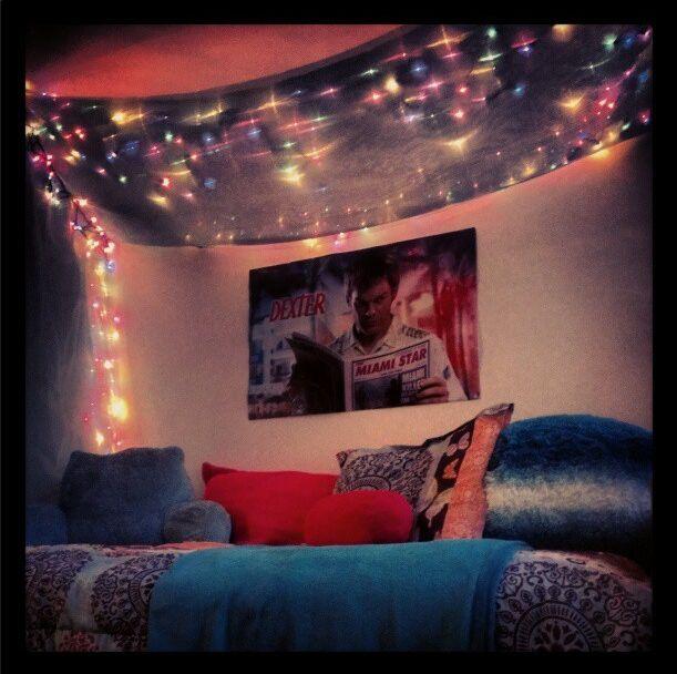 gallery for christmas lights in bedroom pinterest