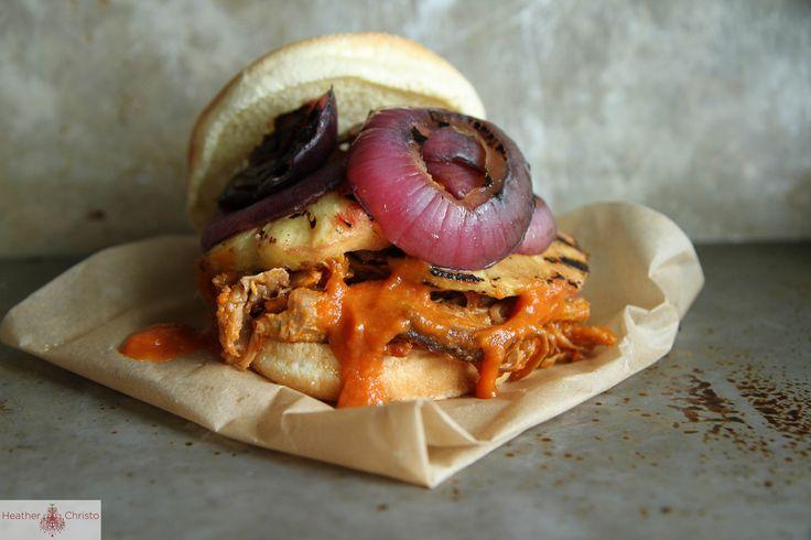 Hawaiian Pulled Pork Sandwich | dinner this week | Pinterest