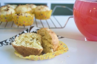 Double Coconut Muffins | Food - Baking | Pinterest