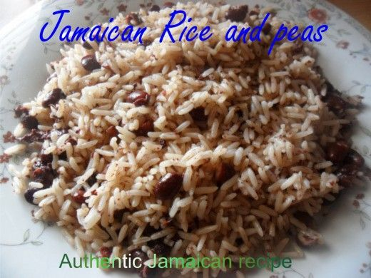 Jamaican Rice and Peas Recipe Using Red Kidney Beans