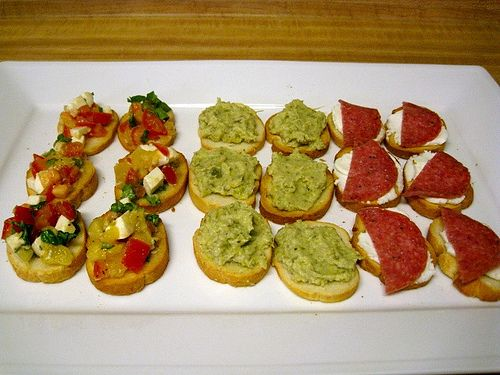 Artichoke, Olives, and Capers Crostini | Foodball/Football Foodie | P ...