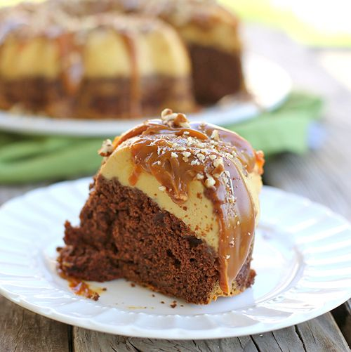 Chocolate Caramel Turtle Flan recipe - from Tablespoon!