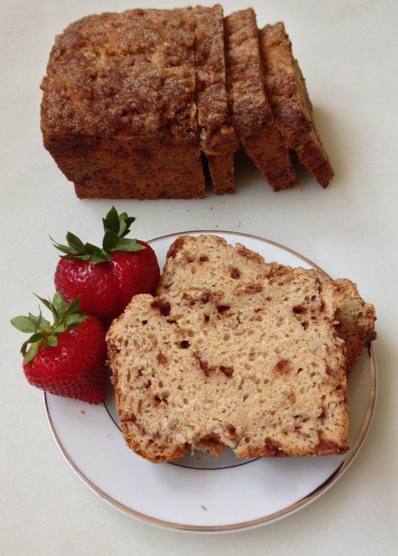 Easy Cinnamon Bread. No-knead, so simple and so delicious!