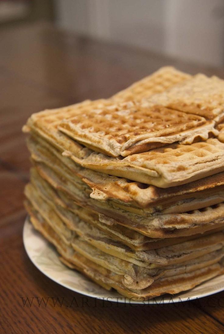 Whole Wheat Waffles | Recipes | Pinterest