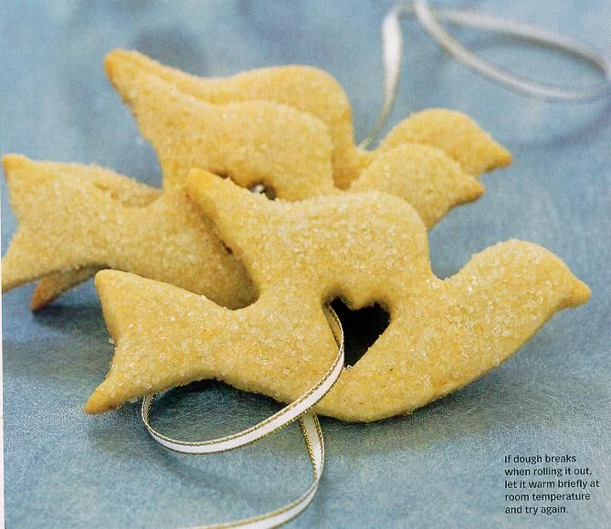 these are Lemon Butter Cookies. What a wonderful shape! There are ...
