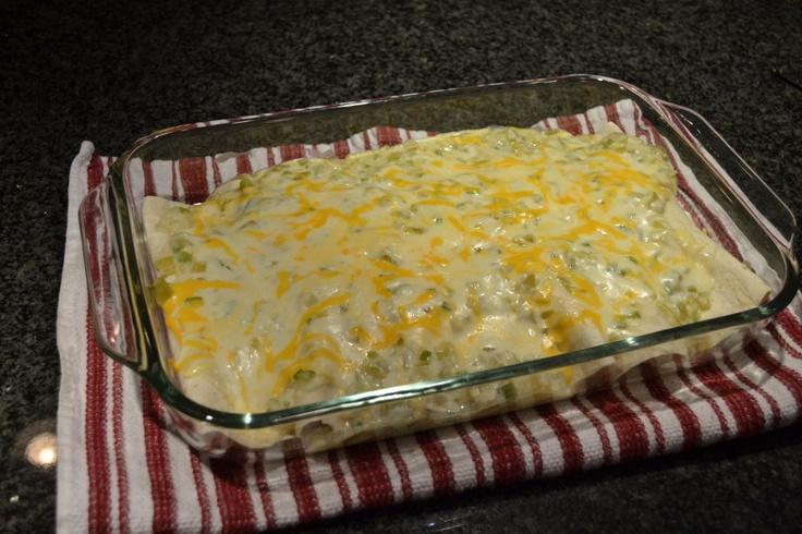 White Bean & Chicken Enchiladas with Creamy Salsa Verde - these were a ...