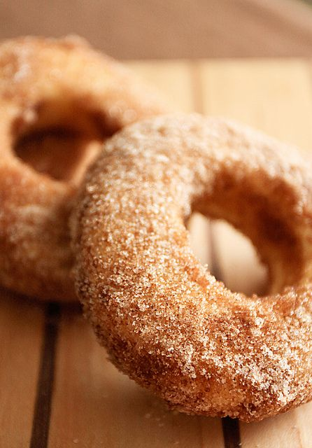 Baked Sugar Doughnuts Recipe — Dishmaps