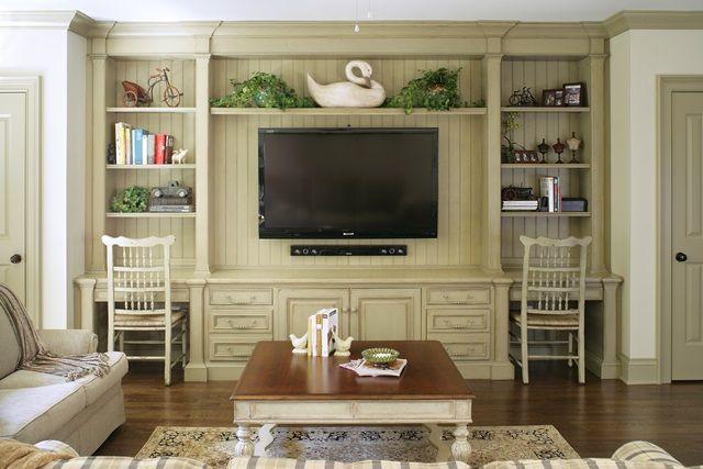 Habersham Custom Home Office Design  Interior Design ideas  Pintere ...
