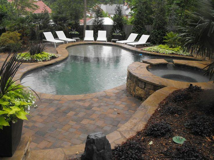 Backyard pool oasis for Garden oasis pool