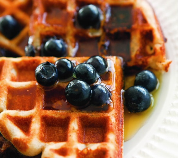 Gluten-free blueberry waffles | Allergy conscious recipes | Pinterest